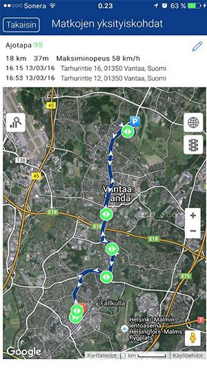 Mobiilisovellus-Matkojen-yksityiskohdat-Meta-Trak